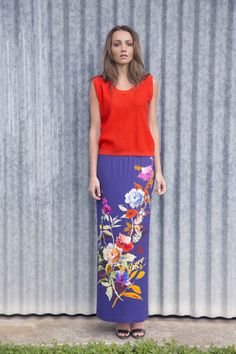 Collection 66 _ SS2015 Ss, My Style, Floral, Skirts, Collection, Fashion, Moda, Fashion Styles, Skirt