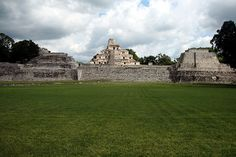 Archaeological Site of Edzna Campeche Mexico