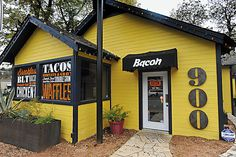 Bacon Restaurant in Austin, TX..this place was awesome...it's a must go