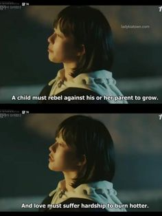 Some Good Quotes, Best Quotes, Dramas, School Life Quotes, Nostalgia, Korean Drama Quotes, Service Quotes, Park Bo Young, Great Words