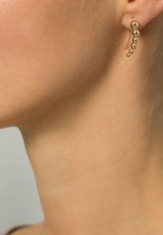 femme sfbali orecchini goldcoloured Oro ad Euro in femme borseaccessori The Selection, Rings, Fashion, Spring Summer 2016, Color Combinations, Earrings, Gold, Accessories, Style