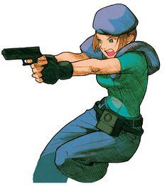 Jill Valentine - Marvel vs. Capcom 2