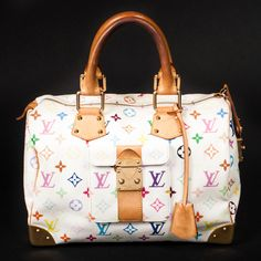 Louis Vuitton speedy 30 multicolore... Was planning to get this until I saw a LE Stephen mono for sale. Can't pass up a good deal esp on limited editions. Still on my want list though.