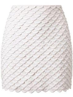 STELLA MCCARTNEY Scalloped Mini-Skirt