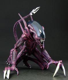 capcom ailens vs preditor | Alien Vs Predator Arcade Game Boss Alien: Razor Claw custom figure