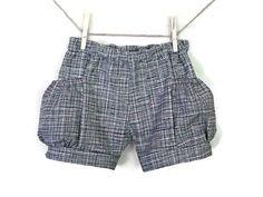 Girls Bubble Pocket Shorts Baby girl shorts Toddler Girls shorts Girls Clothes Sizes 6-9M, 12-18M, 2, 3, 4, 5, 6, 7, 8 - pinned by pin4etsy.com