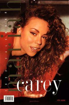 Mariah Carey 1993 calendar cover