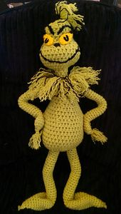 Ravelry: The 16 Inch Grinch free pattern by Colleen Hays