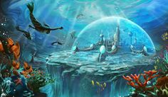 La cité d'Atlantis