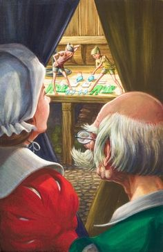 Elves find new clothes - the elves and the shoemaker