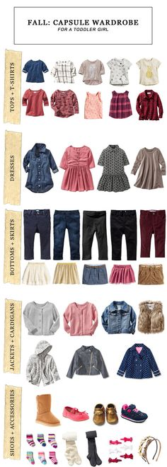 Fall Capsule Wardrobe for a Toddler Girl || Kiss My Tulle
