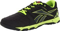 Reebok Footwear Mens One Trainer 10 CrossTraining ShoeGravelNeon Yellow13 M US ** You can get more details by clicking on the image.