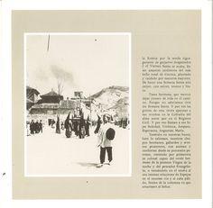 Semana Santa 1986 Programa que incluye un artículo de José Miguel Carretero Escribano al que acompañan fotografías antiguas de Semana Santa de Cuenca