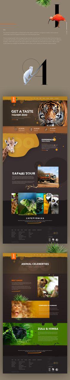 Zoo Website Design
