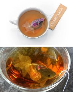 15 fantasiose bustine di tè