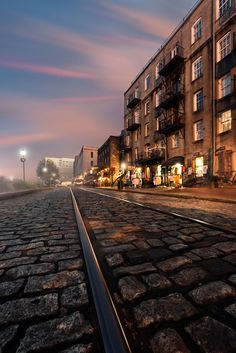 River Street, Savannah, Georgia - this is our next vacation destination in 2014