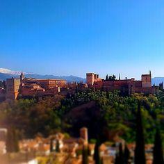 #alhambra vista do miradouro de  San Nicolás #FalarDeGranada