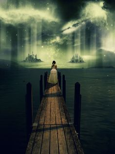 Fantasy at port by ~mostpato Digital Art / Photomanipulation / Fantasy