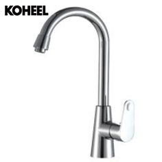 Large Bend Large Arc Plating / Stainless Steel Faucet Spray Kitchen Faucet Mixer Tap Stainless Steel Faucets Sink Faucet