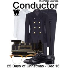 Inspired by Tom Hanks (voice) as the Conductor in 2004's The Polar Express.
