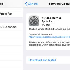 Apple releases iOS 8.4 beta 3 with revamped Music app ahead of late Junelaunch