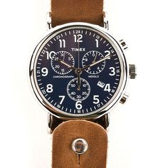 Form•Function•Form Horween Leather Timex Chronograph