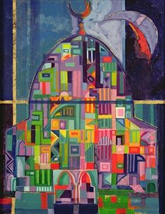 """Laila Shawa """"The House of God"""" (we have this print)"""