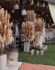 5 stems pampas grass 34'' dried flowers | Etsy Wedding Goals, Boho Wedding, Wedding Table, Fall Wedding, Rustic Wedding, Wedding Planning, Dream Wedding, Wedding Ideas, Wedding Colors