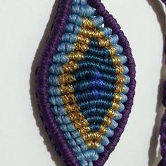 evil eye macrame bracelet Macrame Bracelets, Evil Eye, Knit Crochet, Crafty, Jewellery, Beads, Patterns, Knitting, Earrings