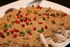 Georgian Recipes: Chicken in Walnut Sauce or Chicken Satsivi