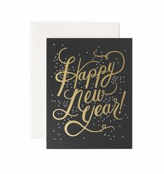 Shimmering New Year Available as a Single Folded Card or a Boxed Set of 8