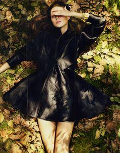 Elena Ivanova by Cuneyt Akeroglu for Wonderland Magazine.