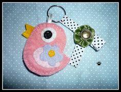 pássaro by Simo www.criandoeinovando.elo7.com.br, via Flickr