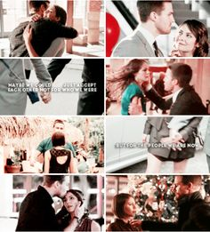 Oliver + Thea #arrow