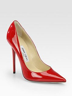 ab3cf8841bd2e Jimmy Choo - Anouk Patent Leather Point Toe Pumps