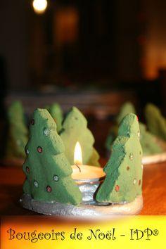Bougeoirs de Noël