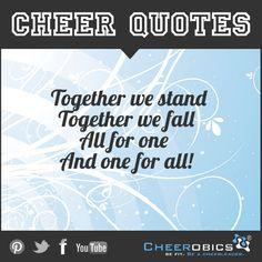 #CheerQuotes