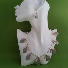 Oragami, Arrow Necklace, Handmade Items, Jewellery, Jewels, Schmuck, Jewelry Shop, Jewlery, Jewelery