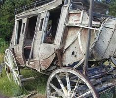 Old stage coach