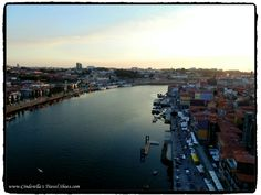 Sunsunet from the Bridge in Porto
