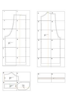 サロペットパンツの無料型紙と作り方 | ヘルカ + ハンドメイド Dress Tutorials, Dress Patterns, Chart, Sewing, Clothing, Pants, Aprons, Dressmaking, Outfits