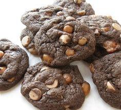 Double-Dark Mocha Drops: Chocolate. Vanilla. And cinnamon. Plus espresso. | Flourish - King Arthur Flour's blog