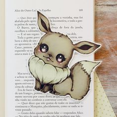 Inspired by Eevee  limited edition bookmark by ribonitachocolat