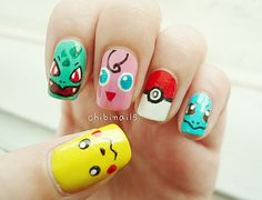 Video Game Nail Art: No Cheat Codes Required