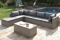 7PCS Outdoor Patio Sofa Set                              …