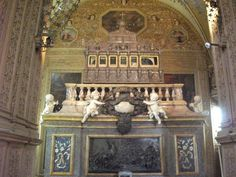 The tomb of St. Francis Xavier in Basilica of Bom Jesus