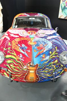 Another shot of Janis Joplins 65 Porsche 356