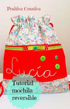 Tutorial mochila reversible   Aprender manualidades es facilisimo.com