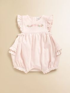 Ralph Lauren Infant's Ruffled Shortall