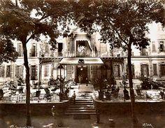 Shepheard's Hotel - Cairo In 1875 by Tulipe Noire, via Flickr